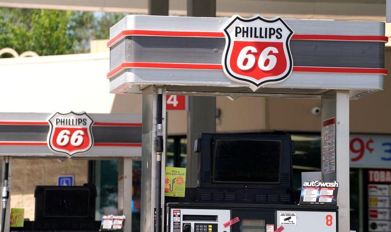 Phillips 66 tankstation Beeld REUTERS
