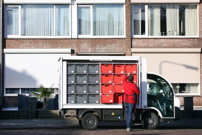 Een Picnic-wagentje in Breda.