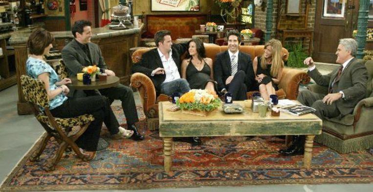 Op deze 2 zenders kun je de 'Friends'-reünie kijken (maar wij hebben alvast de trailer) Beeld Getty Images