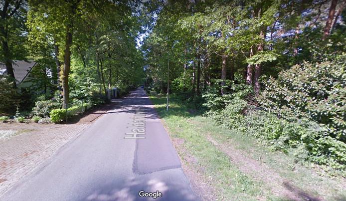 De halderheiweg in Boxtel