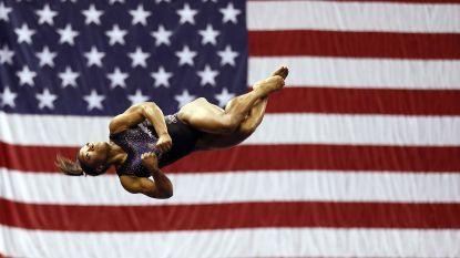 Simone Biles voert verbluffende sprong waar iedereen al op faalde tot in de perfectie uit