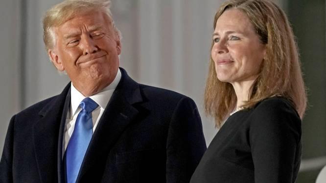 Hoe Trump met de benoeming van Amy Coney Barrett (48) als hoge rechter nog jaren na zijn presidentschap macht kan blijven uitoefenen