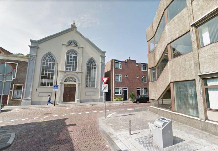 De kerk aan het Kromhout.
