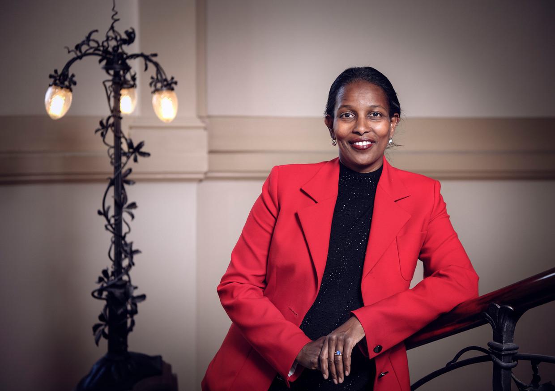 Ayaan Hirsi Ali: 'Als nieuwkomers op een goede manier geïntegreerd worden, is er van 'omvolking' helemaal geen sprake.'