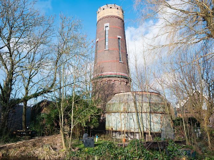 De watertoren aan de Zijde in Boskoop. FOTO MARTIN SHARROTT