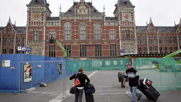 Stationsplein Amsterdam.