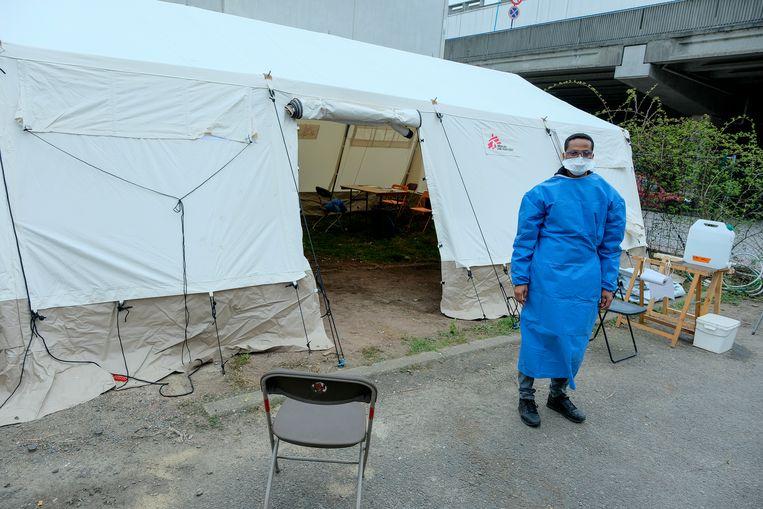 artsen zonder grenzen in Brussel
