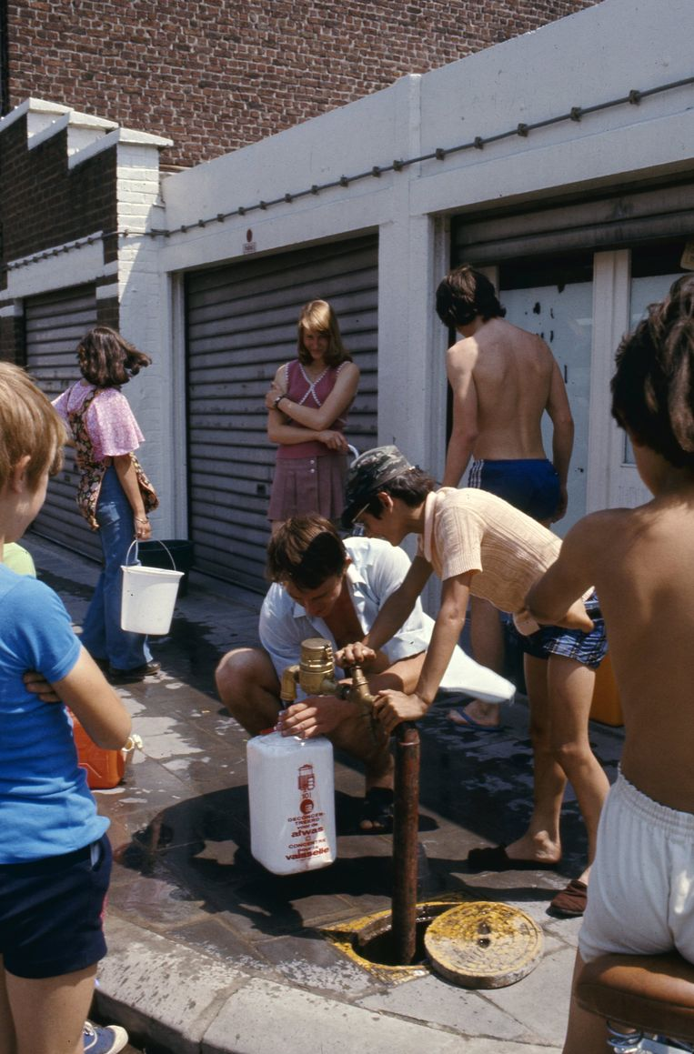 De hete zomer van '76. Beeld photo_news