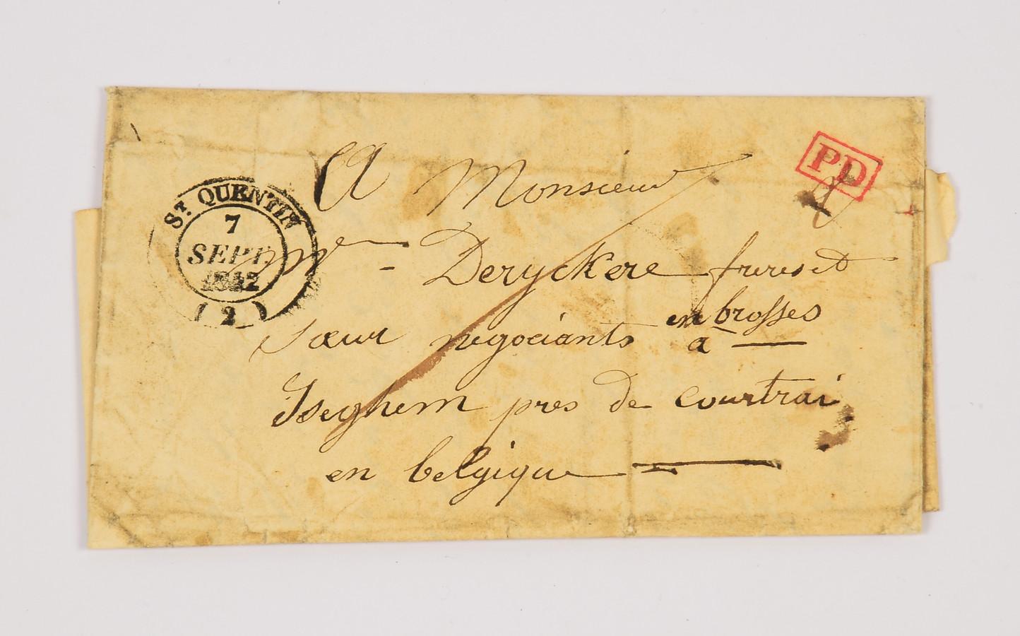 De brief uit 1842