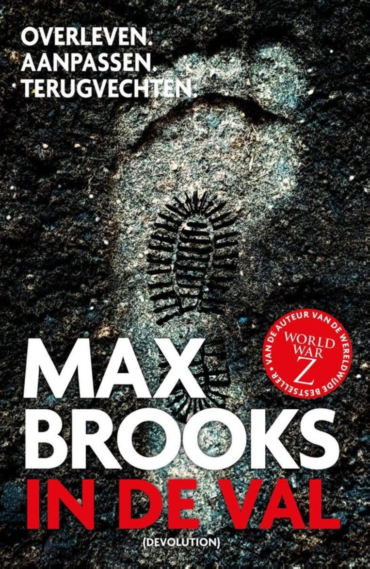 Max Brooks, 'In de val', Devolution, 277 p., 20,99 euro.  Beeld rv