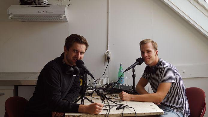 Huisgenoten en sinds kort ook podcastmakers Sjoerd en Erik beschrijven in hun podcasts hun quarantaineleven in hun Tilburgse studentenhuis