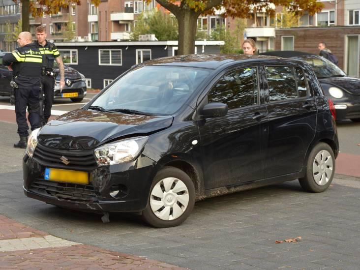 Vrouw gewond bij ongeluk met drie auto's op Tramsingel in Breda