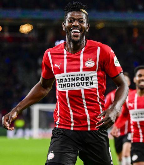 PSV-middenvelder Ibrahim Sangaré scoort ook voor Ivoorkust