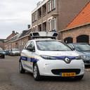 Een scanauto, zoals hier in Breda, kan verlichting brengen in het controlewerk van de boa's.