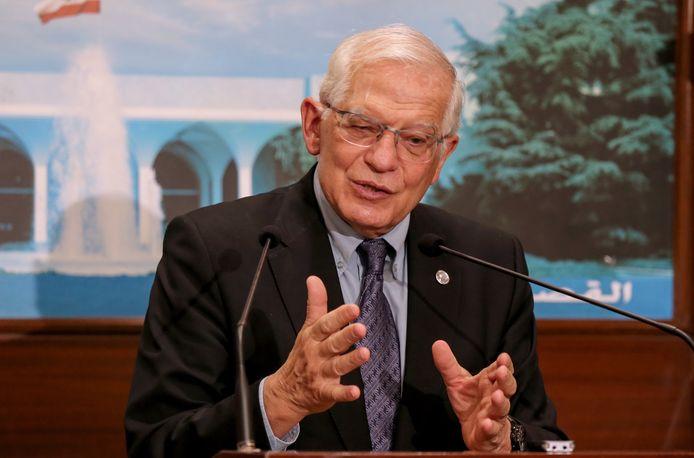 De hoge vertegenwoordiger voor het Europees buitenlands beleid, de Spanjaard Josep Borrell.