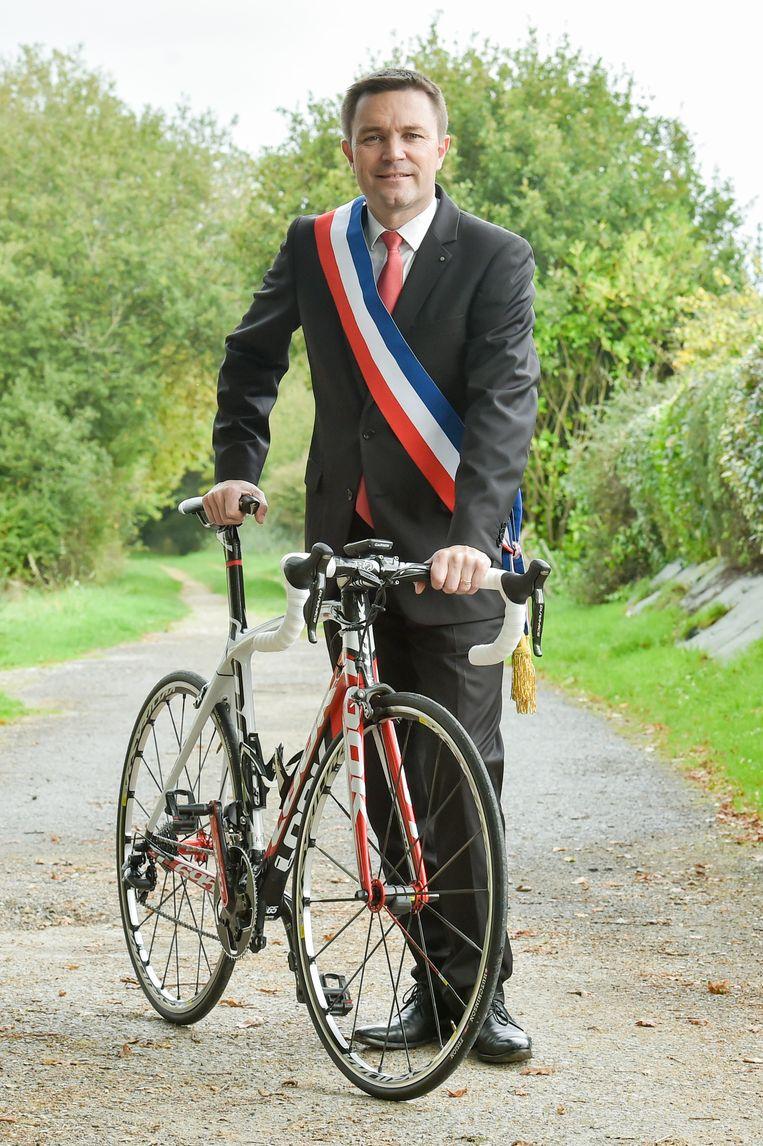 David Lappartient, nieuwe voorzitter van de UCI én burgemeester van het Franse Sarzeau. Beeld bruno perrel / panoramic