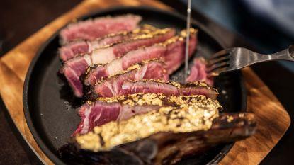 Video: Restaurant uit Hasselt serveert 'steak met laagje bladgoud'