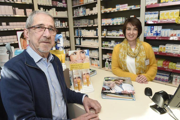 Gaston van Wolleghem (76) en zijn apotheker zijn in elk geval zeer tevreden met dit initiatief.