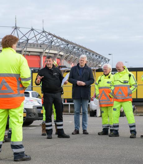 Agressie tegen verkeersregelaars in Twente neemt toe: 'we zijn tandeloze tijgers'