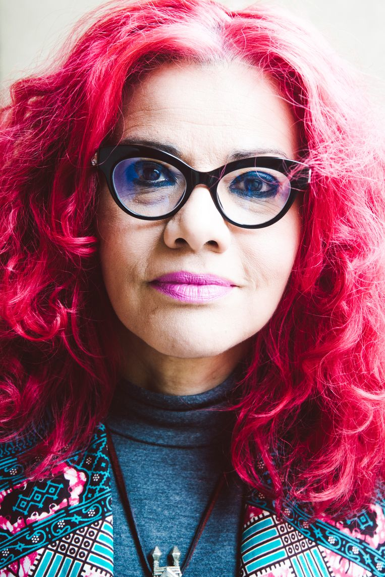 "Mona Eltahawy: ""Het regime is doodsbang van het feminisme."" Beeld Francis Vanhee"