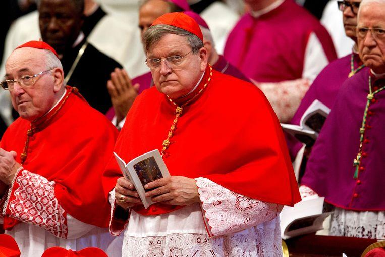 Kardinaal Raymond Burke. Beeld AGEFOTOSTOCK