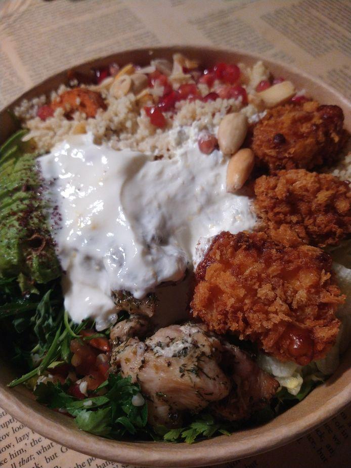 Mazel tov street food.