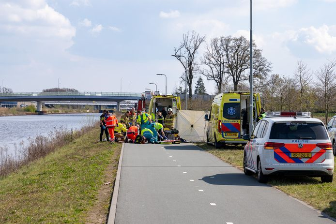Hulpdiensten rukten massaal uit in Rosmalen