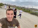 De Run for Yvya-UPS gaf ook mannen de kans om zich in te zetten voor het nieuwe borstkankeronderzoek.