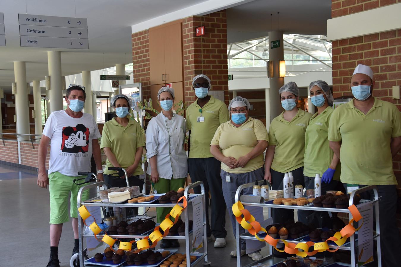 Het personeel van revalidatieziekenhuis Inkendaal in Vlezenbeek verwende de revalidanten de voorbije week extra.