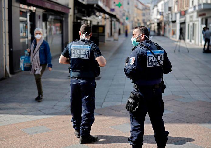 Agenten in Frankrijk, foto ter illustratie.