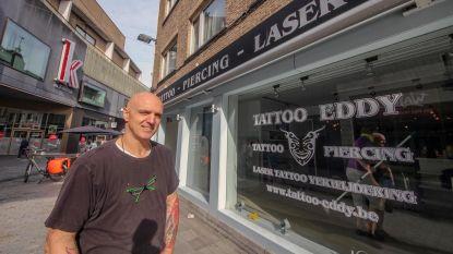 Tattoo Eddy verlaat Zwevegemsestraat