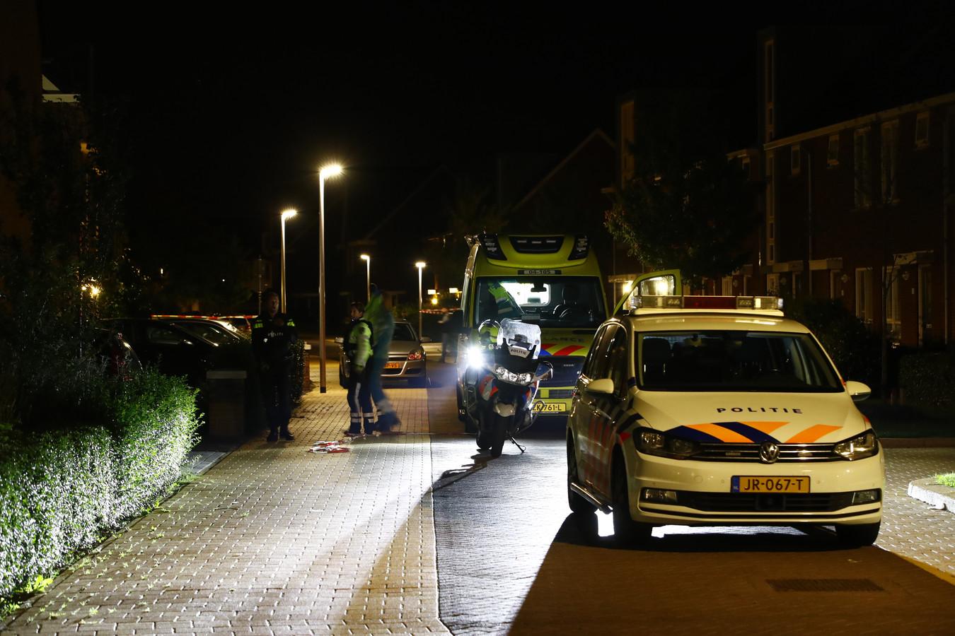 Van Disselstraat Zwolle. Vond hier een schietpartij plaats?