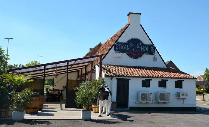 Zo zag Steakhouse Hoeveke er vroeger uit.