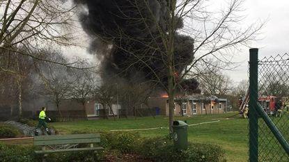 Brand legt jeugdlokalen Herselt in de as: 220 jongeren op straat