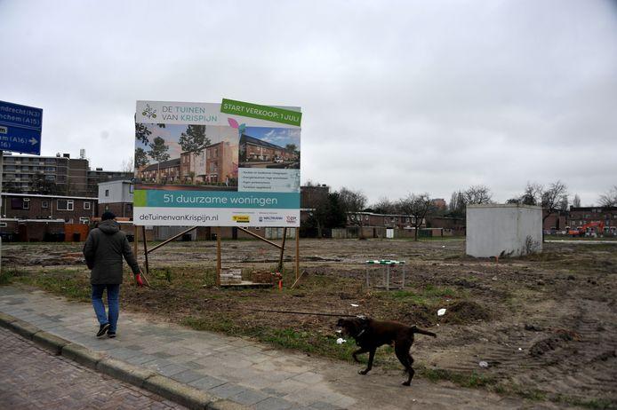 Nieuwbouwproject in Dordrecht.