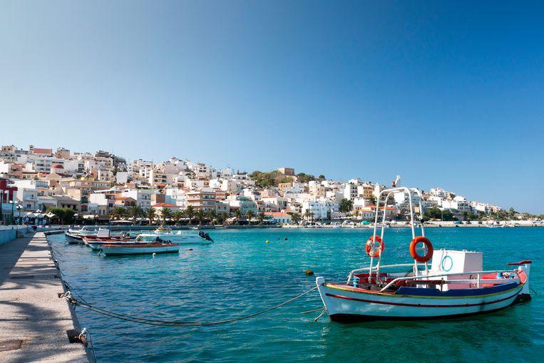 Het populaire Kreta is voorlopig nog een rode zone. Beeld Getty Images