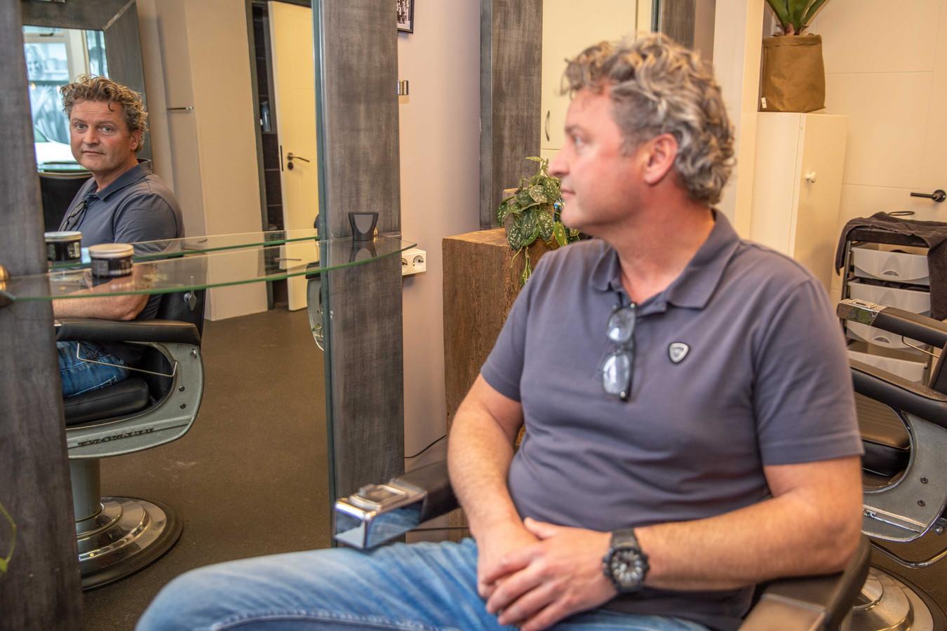 Jeroen van Gastel, eigenaar van kapsalon Charlie Hair in Goes