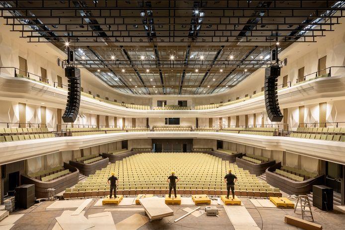 De concertzaal van Amare.
