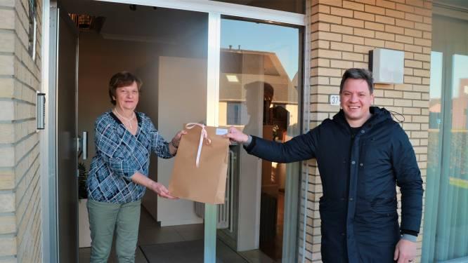 Sociaal Huis bedankt vrijwilligers met lokale streekproducten