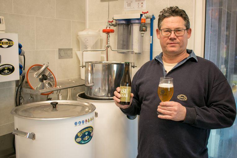 Gunter Verdonck lanceert met zijn nieuwe microbrouwerij Heimelink de Wase Galjaar.