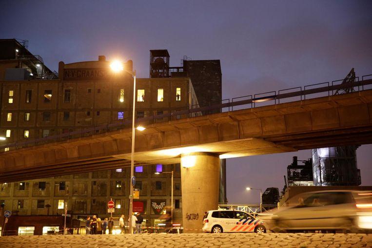 De Maassilo in Rotterdam. Beeld null