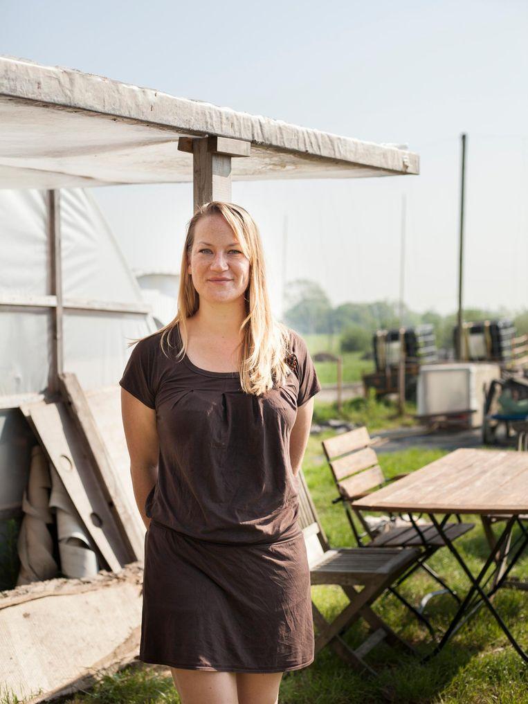Sarai Barel (Lokale Bloemetjes) Beeld Maarten Boswijk