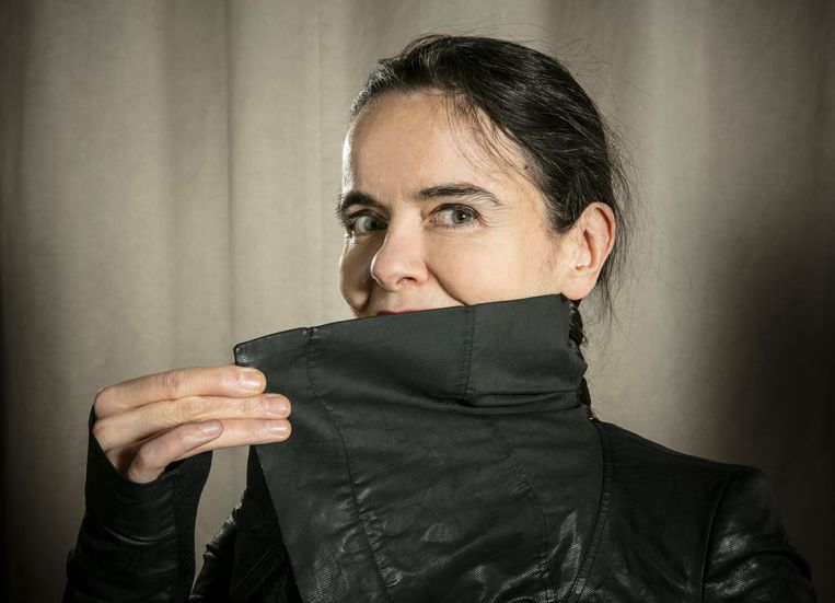 De Belgische schrijfster Amélie Nothomb. Beeld BELGAIMAGE
