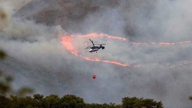 Zware bosbranden in regio rond Malaga na zes dagen 'onder controle' door regenval
