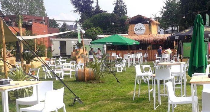 De Grobbendonkse zomerbar is volledig klaar om de gasten te ontvangen