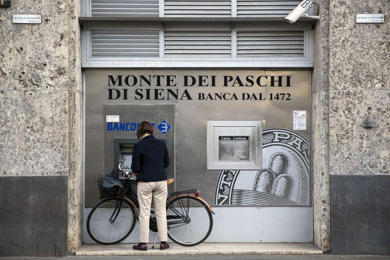 Italië zet een nieuwe financiële crisis in gang die de gehele Eurozone besmet. Beeld Bloomberg via Getty Images