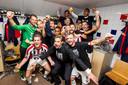 Feest bij Willem II na de handhaving tegen NAC.