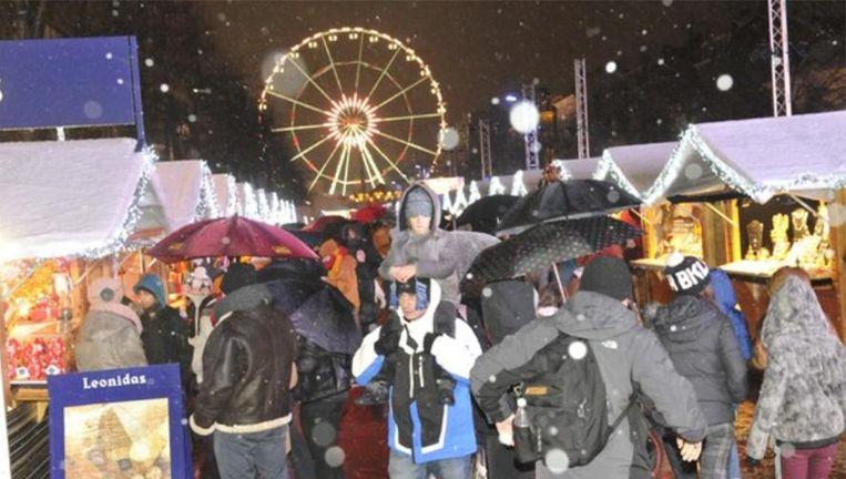 De kerstmarkt aan het Muntplein, editie 2014.