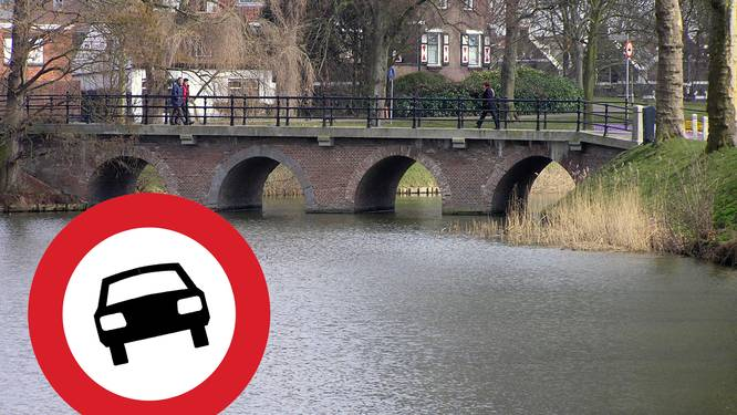 Ondanks boze blikken en klappen op auto's: Stenen Brug in Goes blijft autovrij