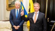 Jan de Keyser (CD&V) legt eed af als burgemeester